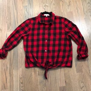 Madewell Buffalo Plaid Button Up